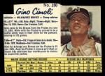 1962 Post Canadian #150  Gino Cimoli  Front Thumbnail