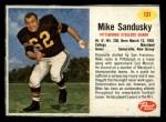 1962 Post #131  Mike Sandusky  Front Thumbnail