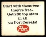 1962 Post #6 AD Roger Maris  Back Thumbnail