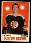 1970 O-Pee-Chee #4  Don Awrey  Front Thumbnail