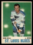 1970 O-Pee-Chee #98  Bob Wall  Front Thumbnail