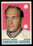 1970 O-Pee-Chee #229  Charlie Hodge  Front Thumbnail