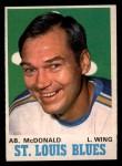 1970 O-Pee-Chee #215  Ab McDonald  Front Thumbnail