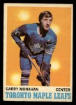 1970 O-Pee-Chee #112  Garry Monahan  Front Thumbnail