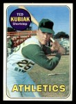 1969 Topps #281  Ted Kubiak  Front Thumbnail