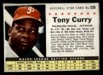 1961 Post #120 BOX Tony Curry   Front Thumbnail