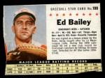 1961 Post #188 BOX Ed Bailey   Front Thumbnail