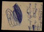1961 Post Cereal #120 BOX Tony Curry   Back Thumbnail