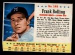 1963 Post Cereal #149  Frank Bolling  Front Thumbnail