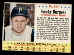 1963 Post Cereal #144  Smoky Burgess  Front Thumbnail