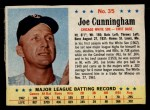 1963 Post #35  Joe Cunningham  Front Thumbnail