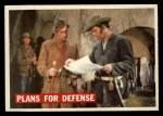 1956 Topps Davy Crockett Orange Back #65   Plans For Defense  Front Thumbnail