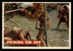 1956 Topps Davy Crockett Orange Back #19   Picking 'Em Off  Front Thumbnail