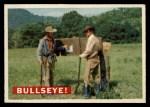 1956 Topps Davy Crockett #35   Bullseye!  Front Thumbnail