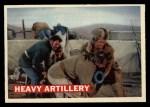 1956 Topps Davy Crockett #68   Heavy Artillery  Front Thumbnail