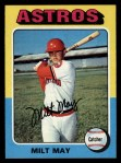 1975 Topps #279  Milt May  Front Thumbnail