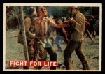 1956 Topps Davy Crockett #18   Fight For Life  Front Thumbnail