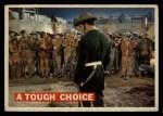 1956 Topps Davy Crockett #62   Tough Choice  Front Thumbnail