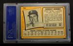 1971 O-Pee-Chee #710  Sonny Siebert  Back Thumbnail
