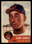 1953 Topps #6  Sam Jones  Front Thumbnail
