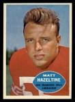 1960 Topps #119  Matt Hazeltine  Front Thumbnail