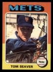 1975 Topps #370  Tom Seaver  Front Thumbnail