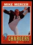 1971 Topps #201  Mike Mercer  Front Thumbnail