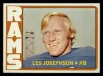 1972 Topps #247  Les Josephson  Front Thumbnail