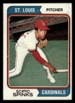 1974 Topps #576  Scipio Spinks  Front Thumbnail