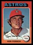 1975 Topps Mini #357  Ken Forsch  Front Thumbnail