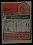 1975 Topps Mini #631  Lee Lacy  Back Thumbnail