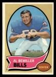 1970 Topps #191  Al Bemiller  Front Thumbnail