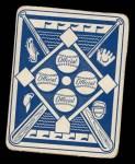 1951 Topps Blue Back #15  Eddie Joost      Back Thumbnail