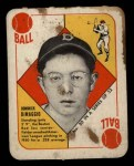 1951 Topps Red Back #20  Dom DiMaggio  Front Thumbnail