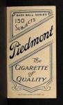 1909 T206 L Lee Tannehill  Back Thumbnail