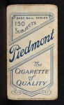 1909 T206 THR Boss Schmidt  Back Thumbnail