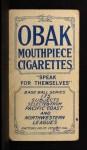 1910 T212 Obak xOLD Frank Carroll  Back Thumbnail