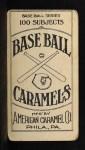1909 E90-1 American Caramel PHL Ira Thomas   Back Thumbnail