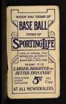 1910 M116 Sporting Life BLU Hughie Jennings   Back Thumbnail