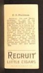 1912 T207  Ed Hallinan    Back Thumbnail