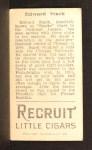1912 T207  Eddie Stack    Back Thumbnail