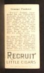 1912 T207  Dode Paskert    Back Thumbnail