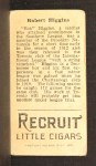 1912 T207  Bob Higgins  Back Thumbnail