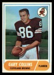 1968 Topps #128  Gary Collins  Front Thumbnail