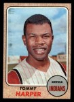 1968 Topps #590  Tommy Harper  Front Thumbnail
