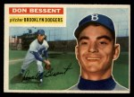 1956 Topps #184  Don Bessent  Front Thumbnail