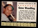 1961 Post #70  Gene Woodling   Front Thumbnail