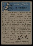1956 Topps / Bubbles Inc Elvis Presley #8   Singing with the Heart Back Thumbnail