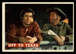1956 Topps Davy Crockett #46   Off To Texas  Front Thumbnail
