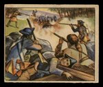 1949 Bowman Wild West #8 A  At War with Britain Front Thumbnail